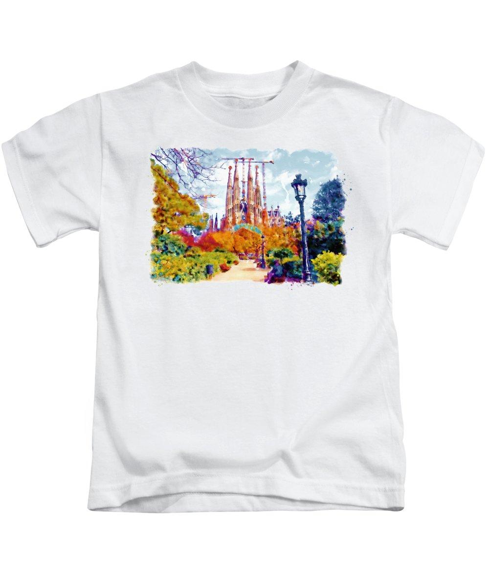 Churches Paintings Kids T-Shirts