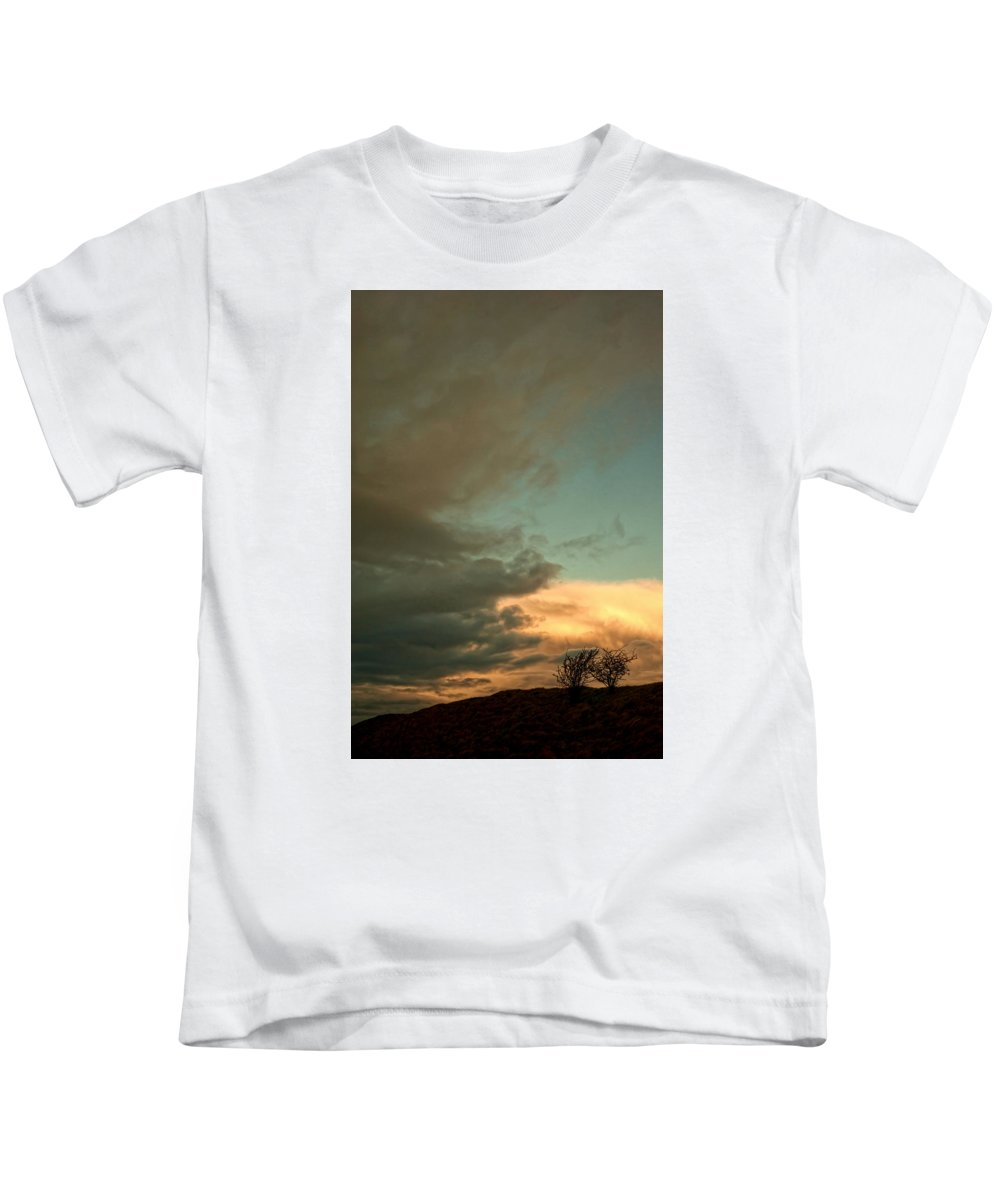 Nature Kids T-Shirt featuring the photograph Landscape by Krzysztof Dac