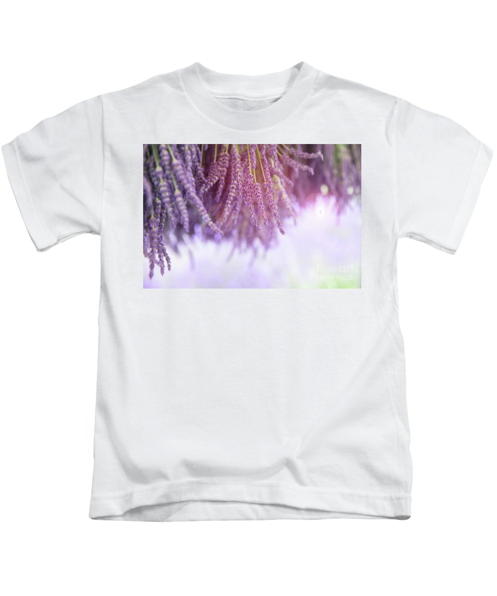Lavender Kids T-Shirt featuring the photograph Lavender by Jane Rix