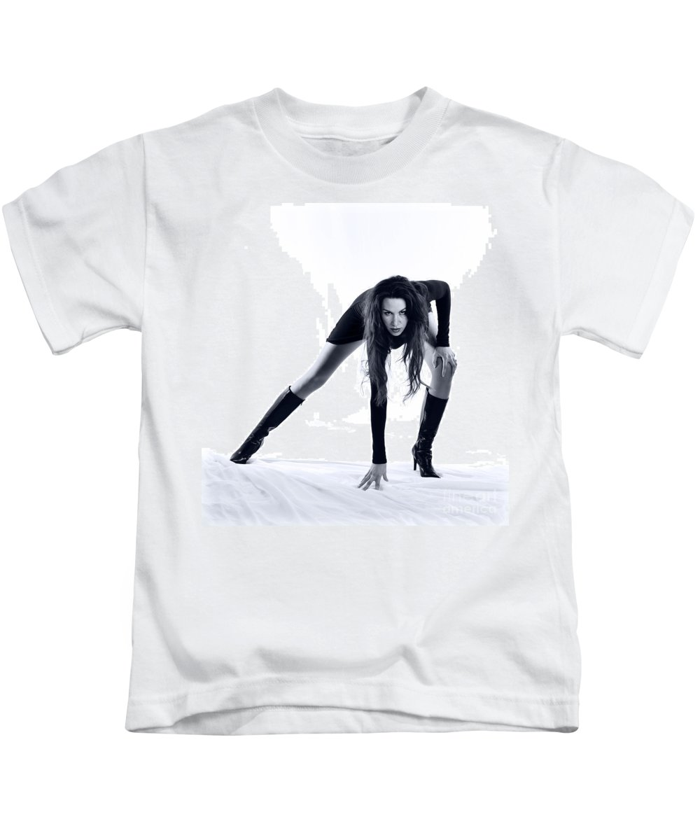 Long Legs Kids T-Shirt featuring the photograph Legs by Scott Sawyer