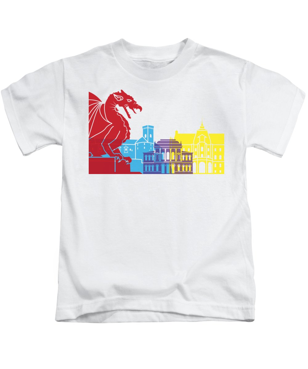 Slovenia Kids T-Shirts