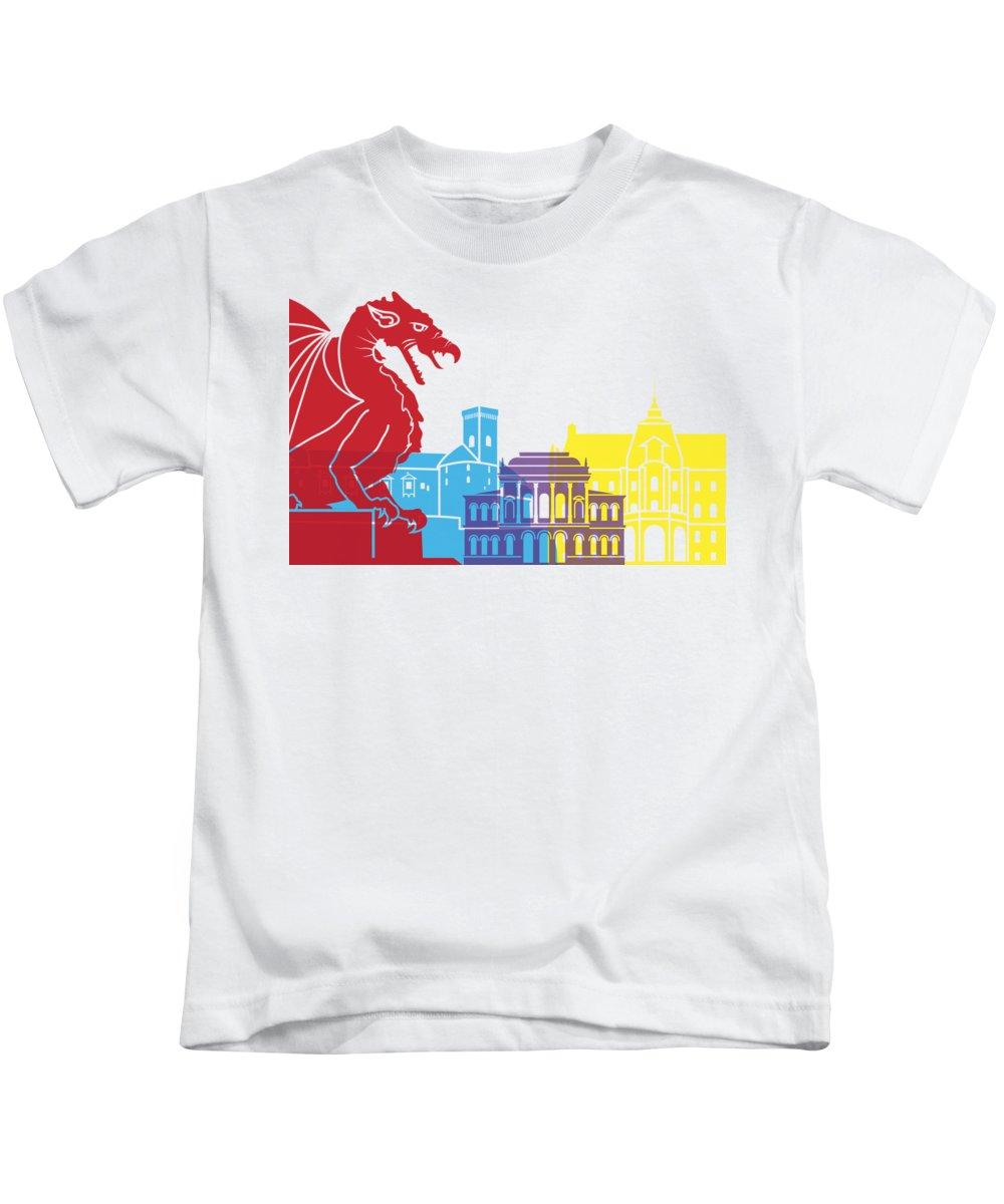 Ljubljana Kids T-Shirts