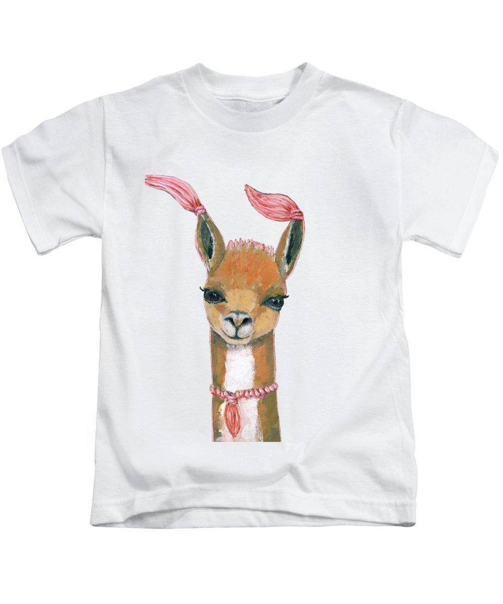 Llama Kids T-Shirts