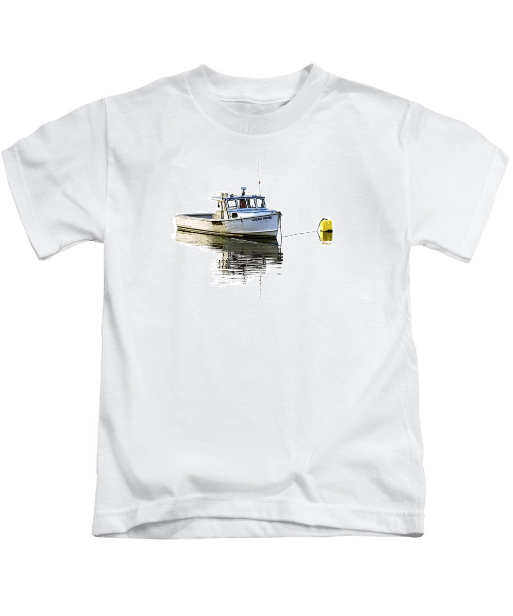 Logan Anne Kids T-Shirt featuring the photograph Logan Anne by Marty Saccone