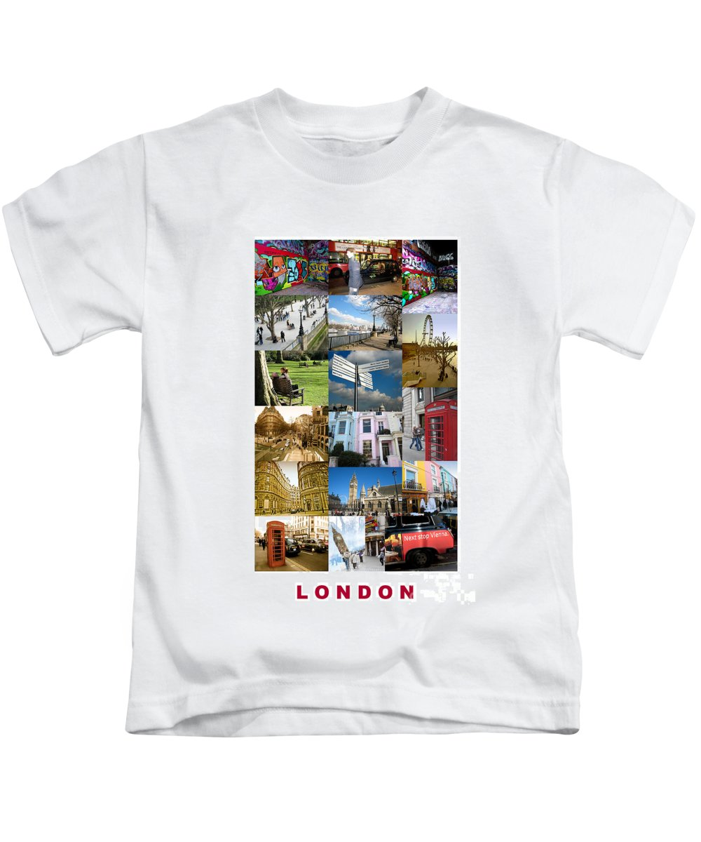 London Kids T-Shirt featuring the photograph London by Madeline Ellis