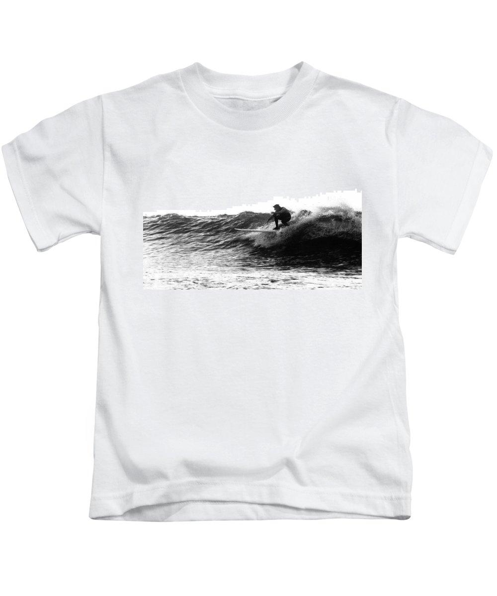 Sports Kids T-Shirt featuring the photograph Longboard by Rick Berk