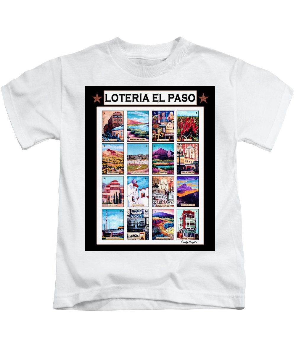 3d80e84a Loteria El Paso Kids T-Shirt for Sale by Candy Mayer