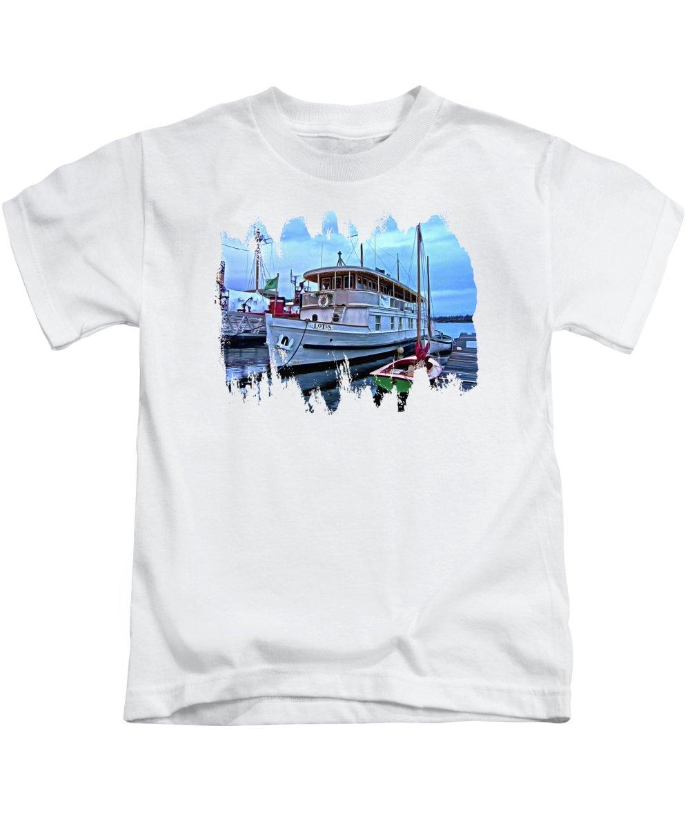 South Lake Union Kids T-Shirts