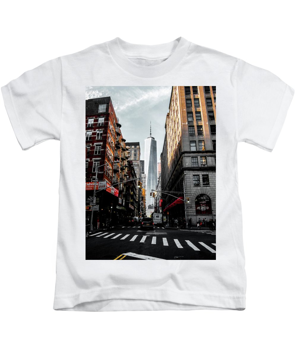Nyc Kids T-Shirt featuring the photograph Lower Manhattan by Nicklas Gustafsson