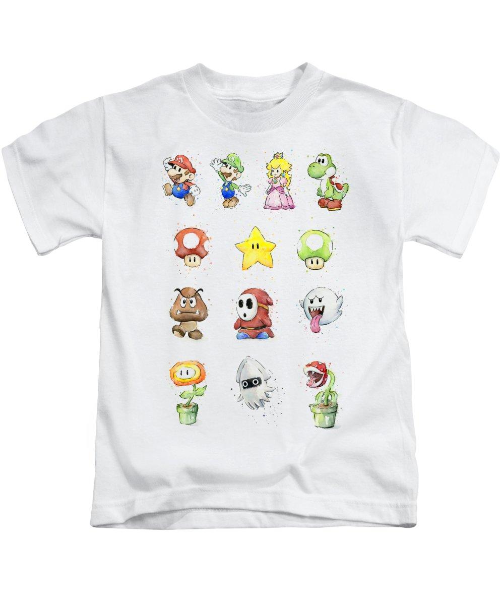 Peach Kids T-Shirts