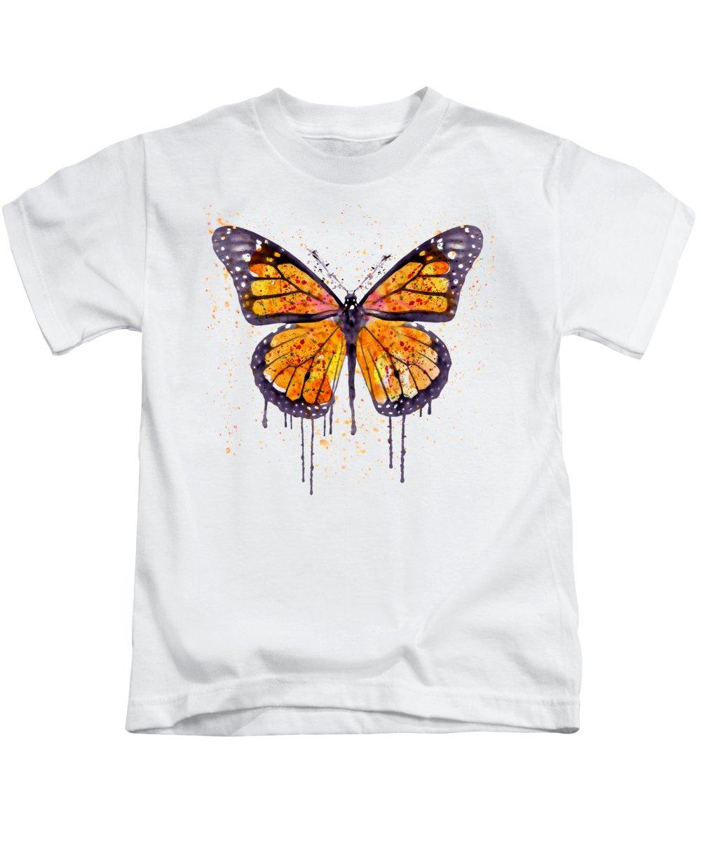 Monarch Butterflies Kids T-Shirts