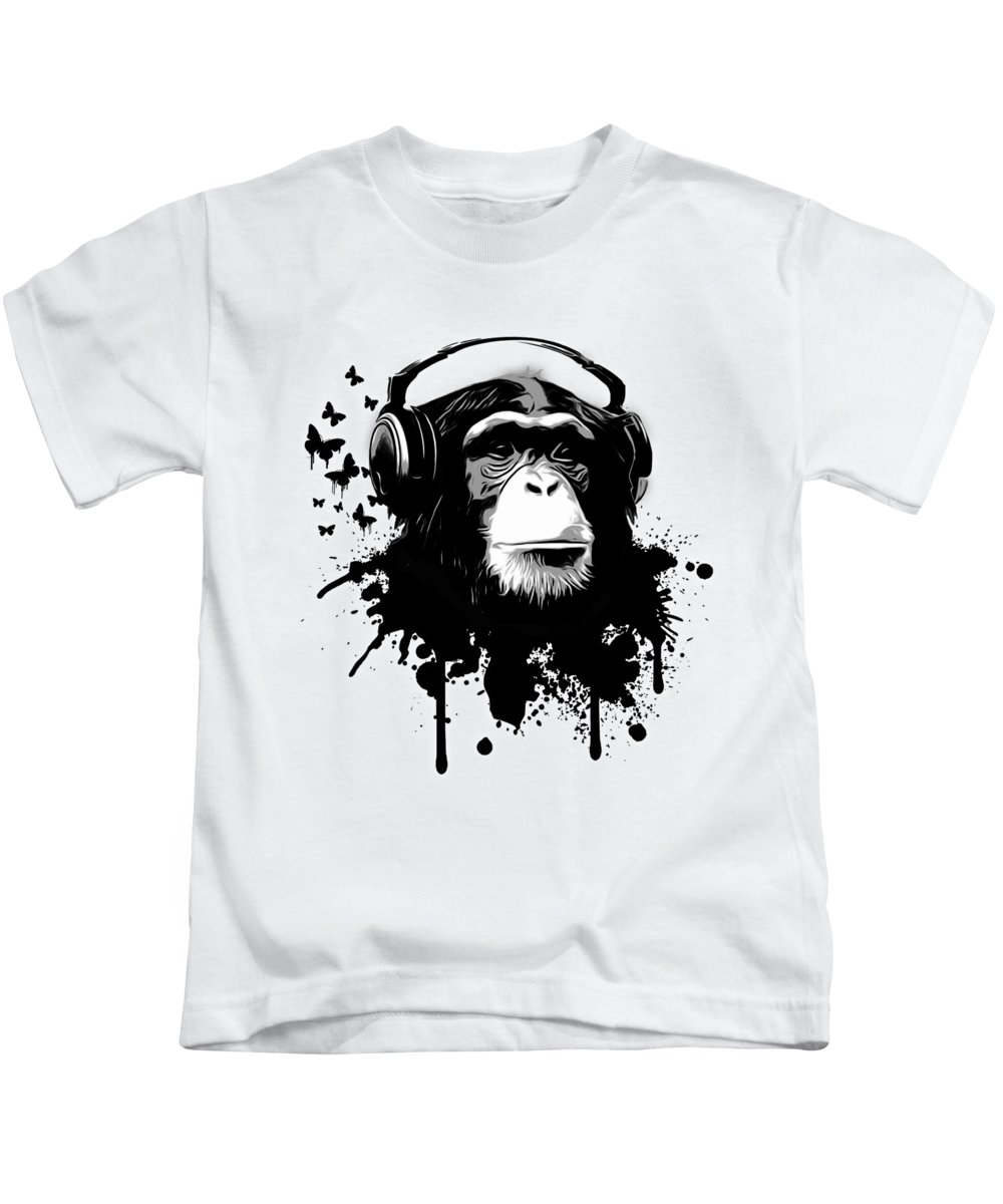 Monkey Business Flamingo Show All Over Printed T-shirt