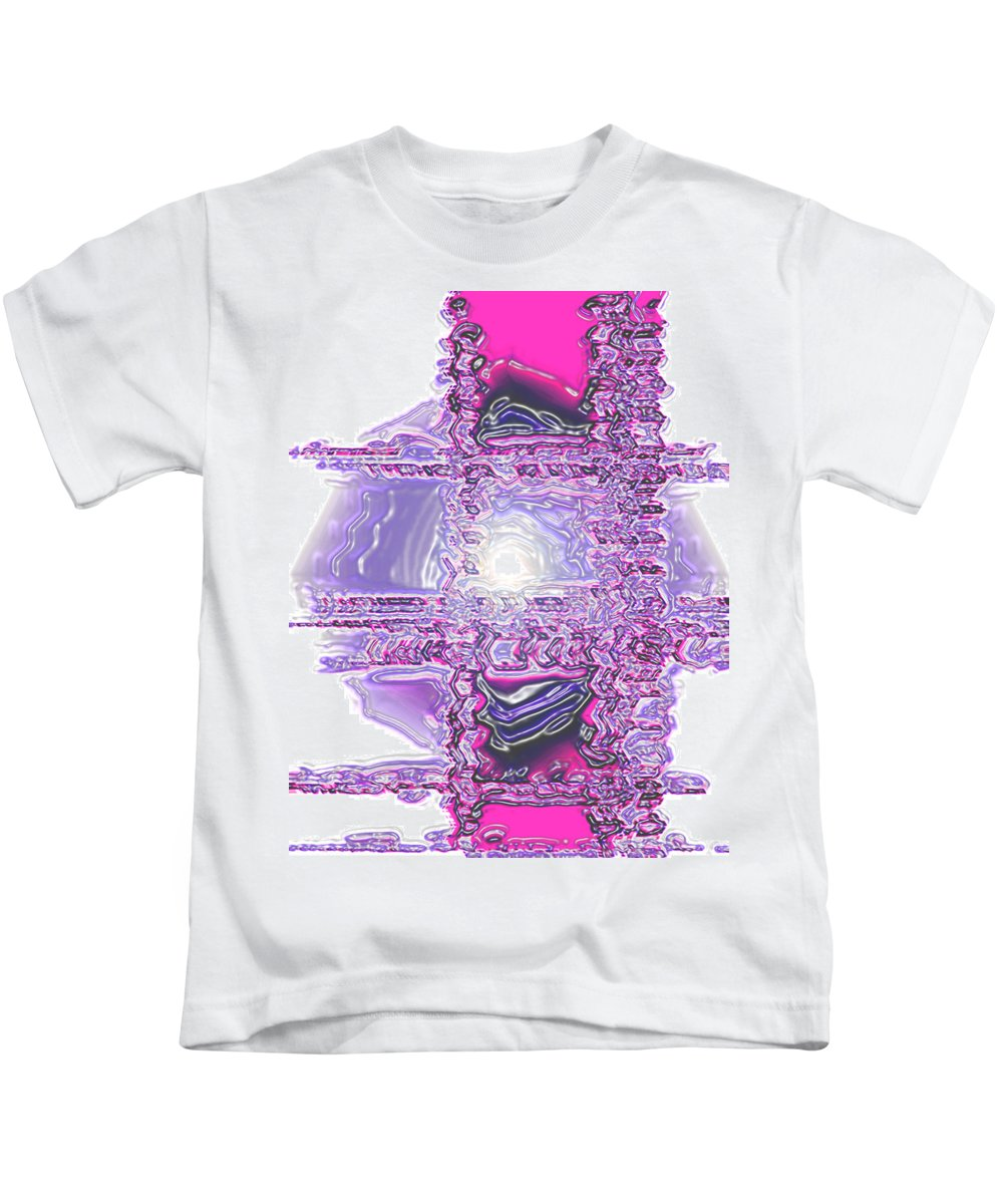 Moveonart! Digital Gallery Kids T-Shirt featuring the digital art Moveonart Dreaming In Color 1 by Jacob Kanduch