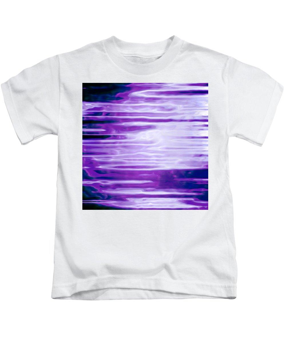 Moveonart! Digital Gallery Kids T-Shirt featuring the digital art Moveonart Future Message Transmit by Jacob Kanduch
