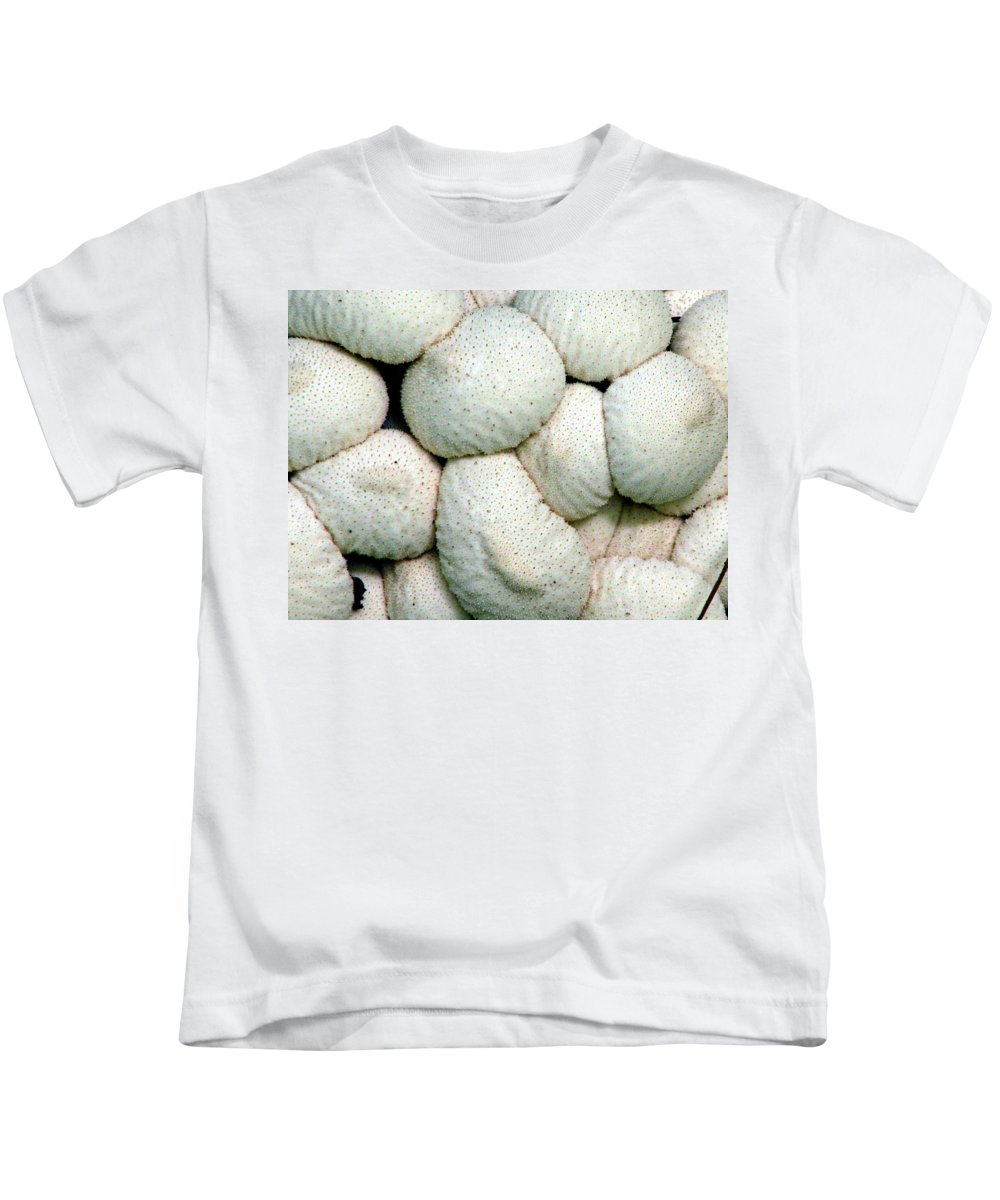 Mushrooms Kids T-Shirt featuring the photograph Mushroom Cluster by J M Farris Photography