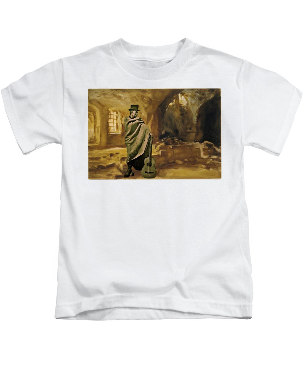 Colette Kids T-Shirt featuring the photograph My Beloved Mum Chris by Colette V Hera Guggenheim