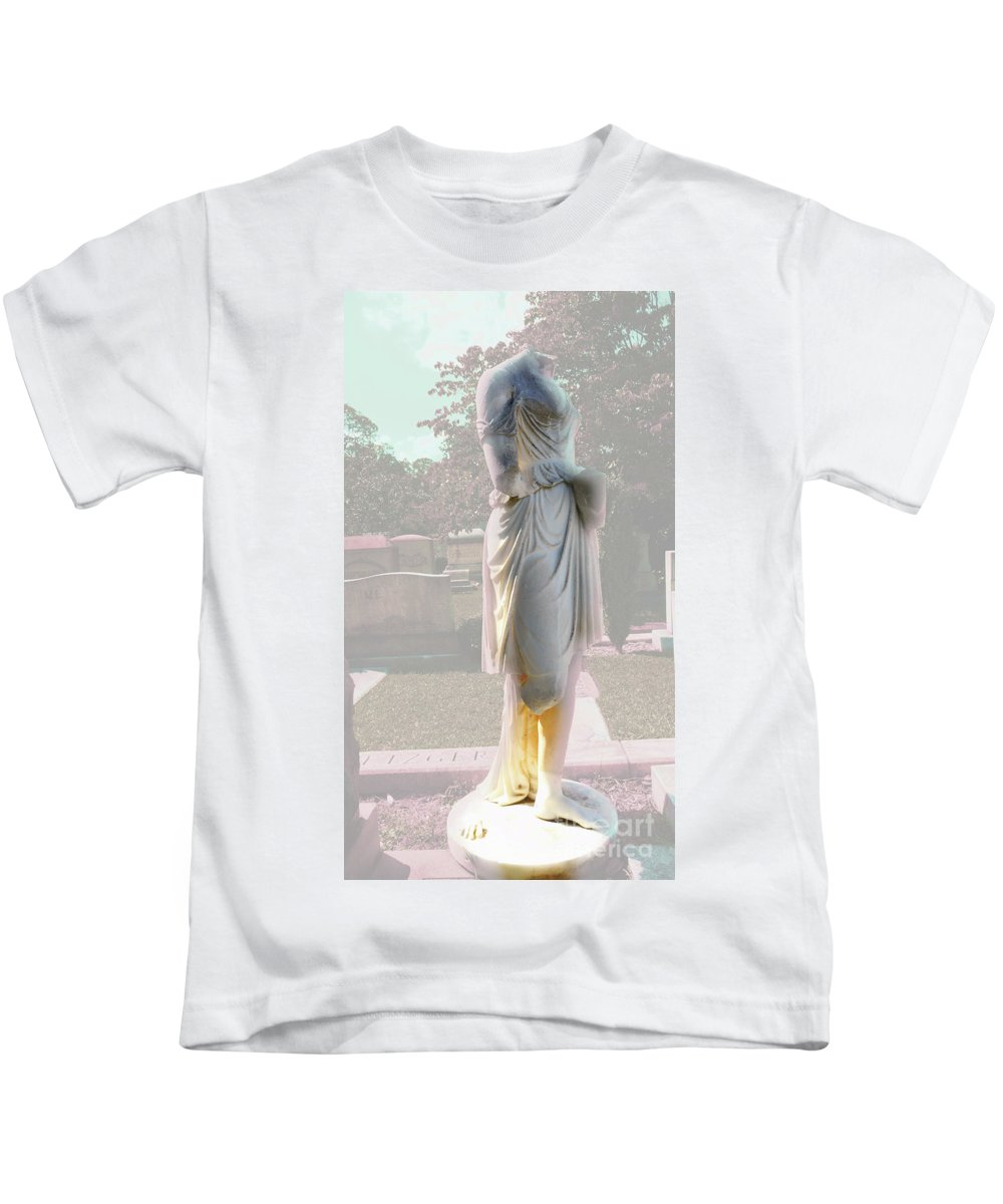 Mystrery Kids T-Shirt featuring the photograph Mysterious Woman by Mike Fisher
