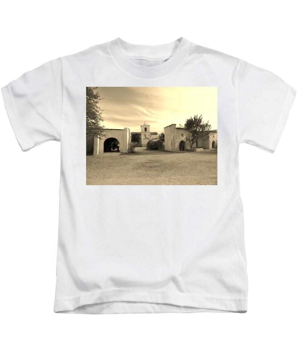 Landscape Kids T-Shirt featuring the photograph Mystical Chapel by Lynn Wist