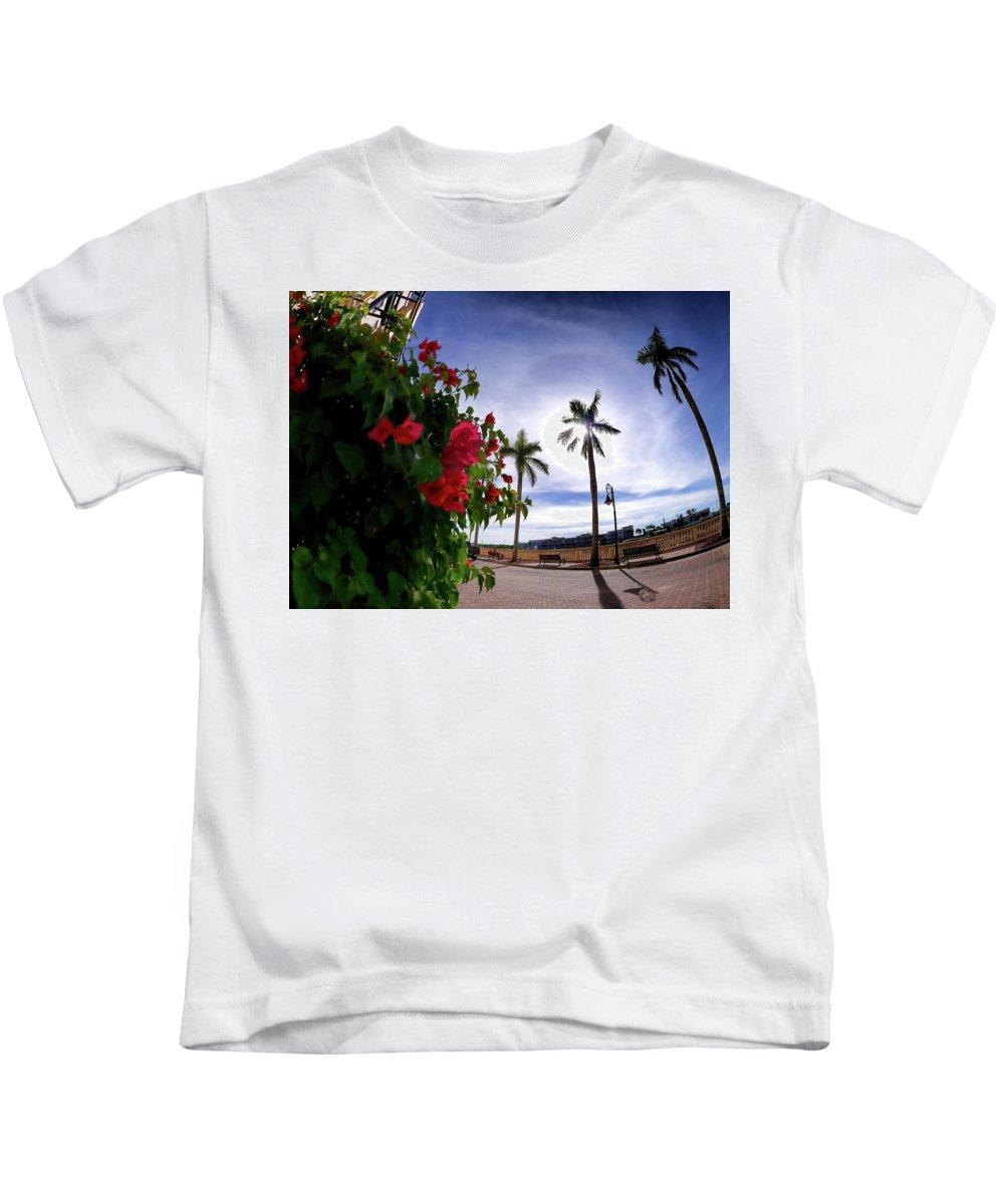 Kids T-Shirt featuring the photograph Naples Florida Xii by Tina Baxter