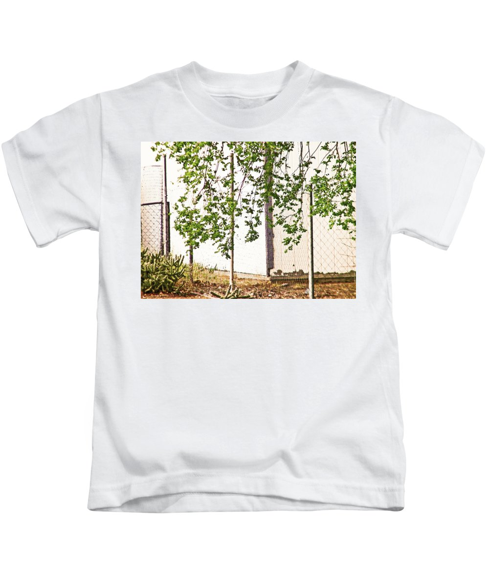 Abstract Kids T-Shirt featuring the photograph Nature As Abstract by Lenore Senior