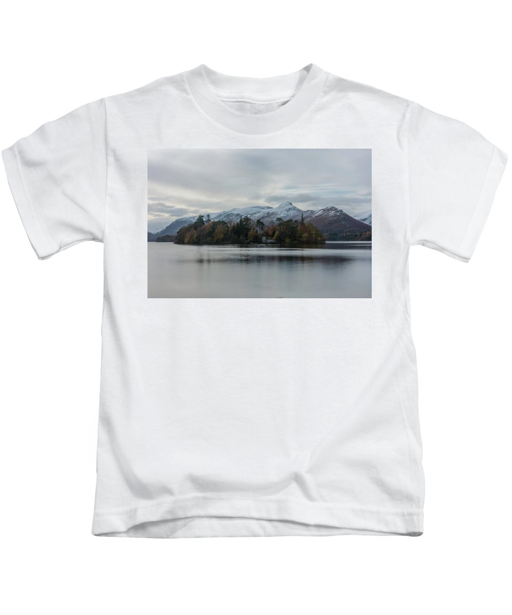 Lake Kids T-Shirt featuring the photograph Nature's Own by Christopher Carthern
