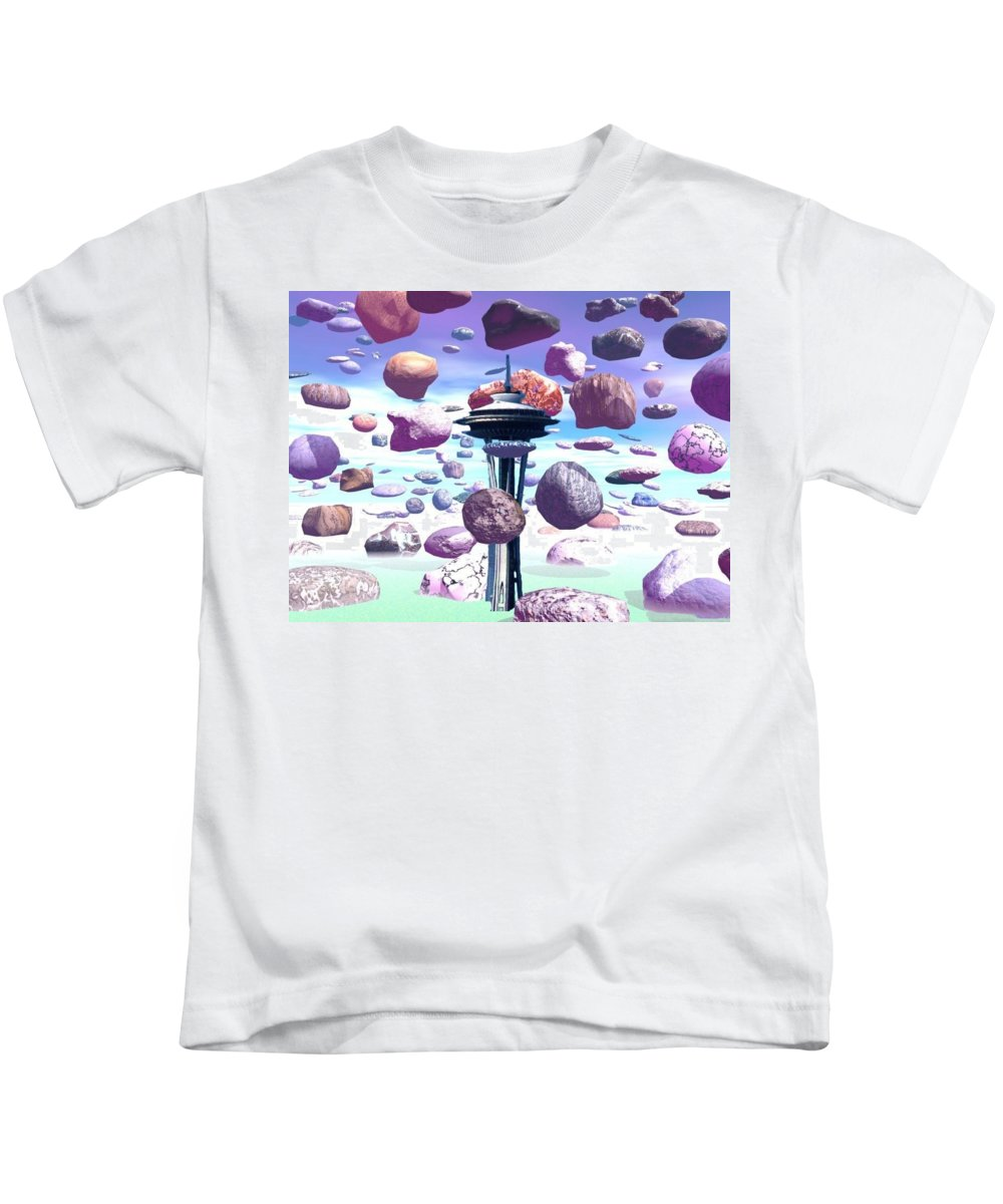 Seattle Kids T-Shirt featuring the photograph Needle Rocks by Tim Allen