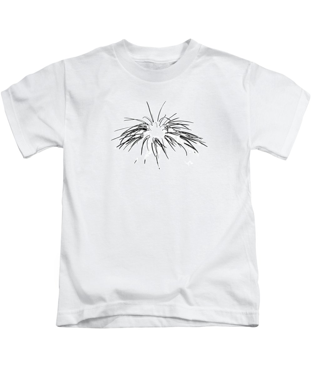 Tree Kids T-Shirt featuring the photograph Needles In The Snow by Marilyn Hunt