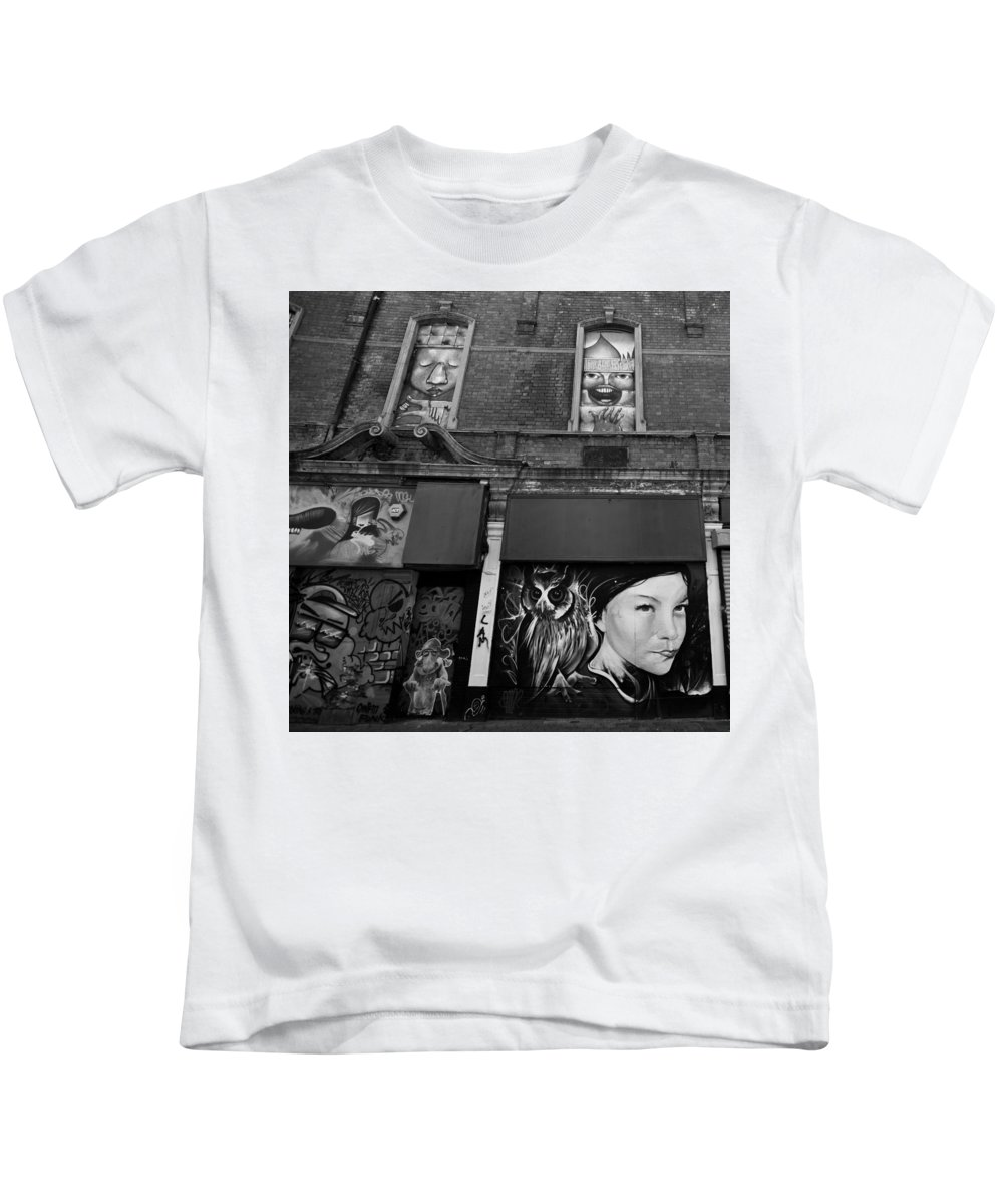 Art Kids T-Shirt featuring the photograph Northern Ireland 60 by Avril Christophe
