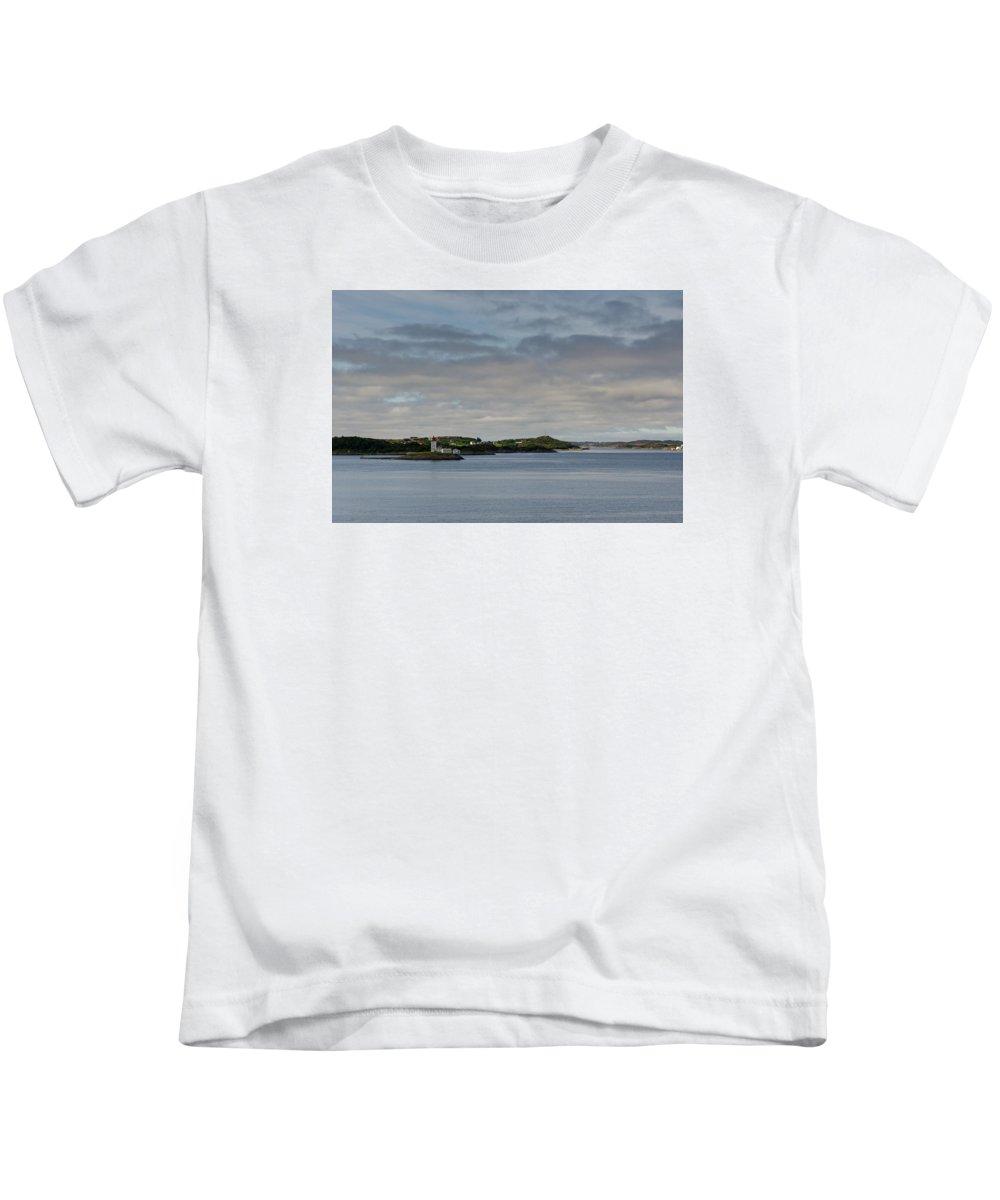 Norway Kids T-Shirt featuring the photograph Norwegian Islands by Claudio Bergero