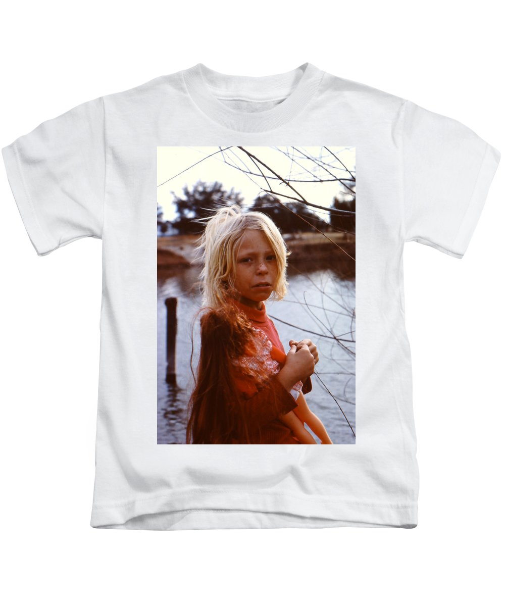 Ragamuffin Kids T-Shirt featuring the photograph Not An Orphan by Cindy Clements