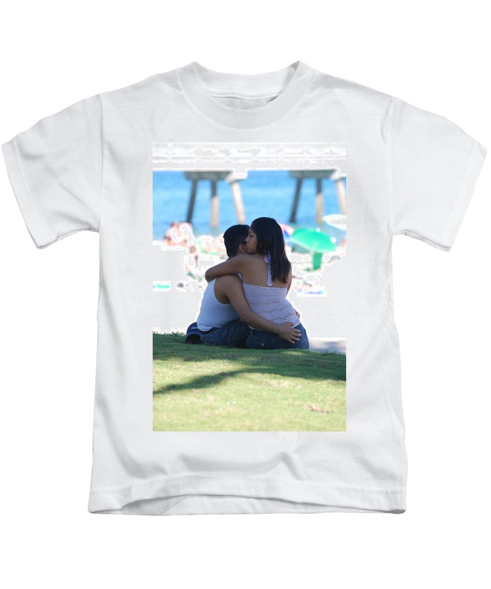 People Kids T-Shirt featuring the photograph Not Married by Rob Hans