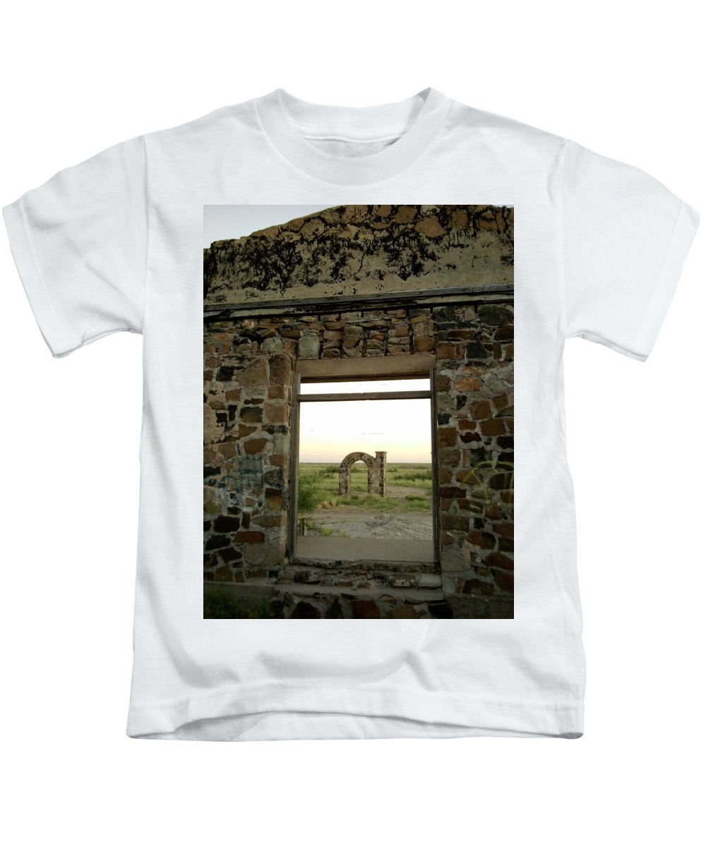 Kids T-Shirt featuring the photograph Old School by Chris Shepherd