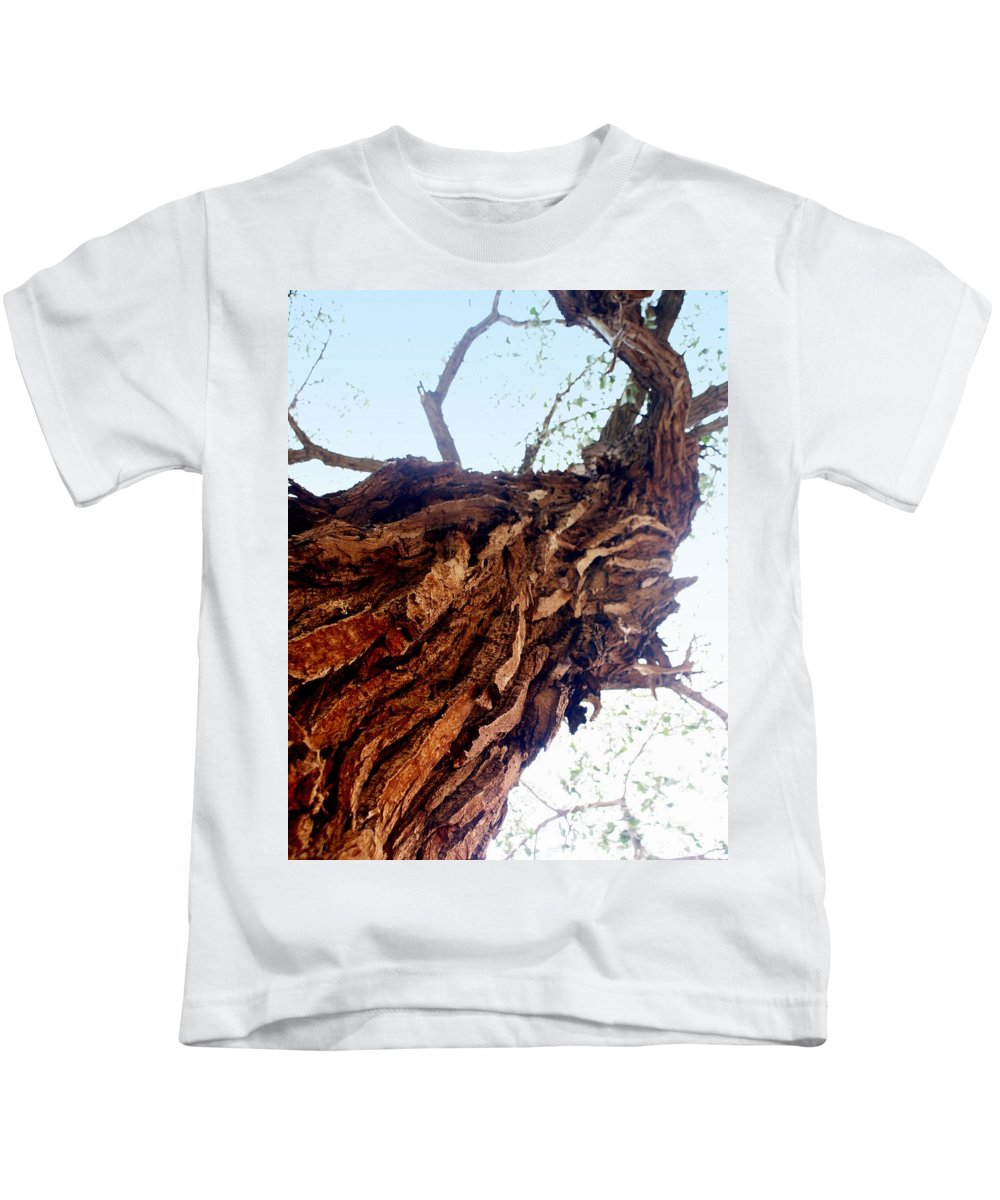 Tree Kids T-Shirt featuring the photograph Old Tree by Marty Koch