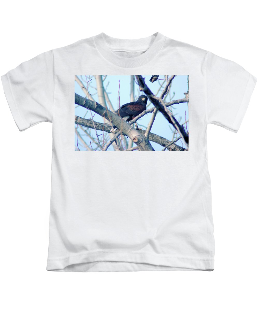 Fowl Kids T-Shirt featuring the photograph One That Got Away by Jeff Swan