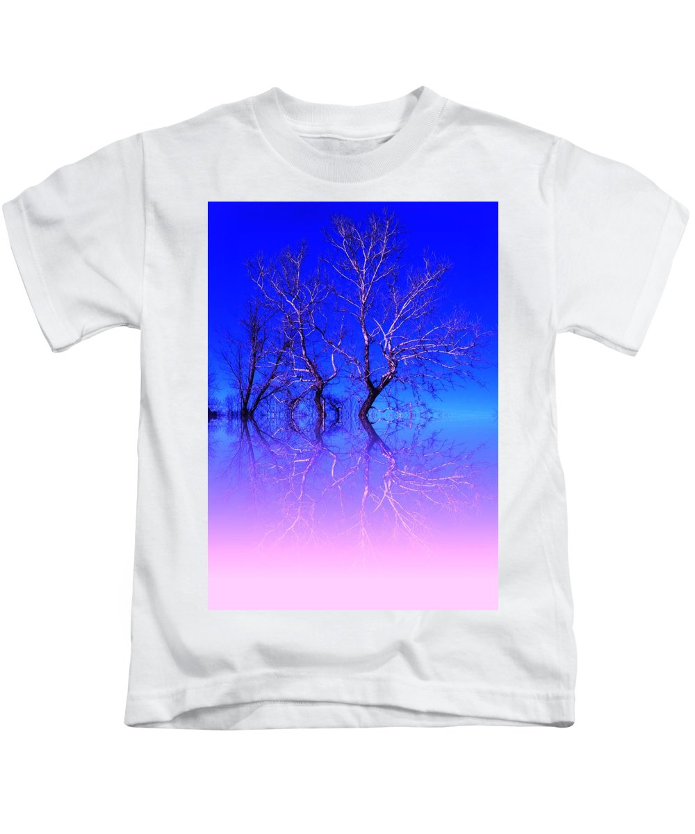 Trees Kids T-Shirt featuring the photograph One Tree by Colette Merrill