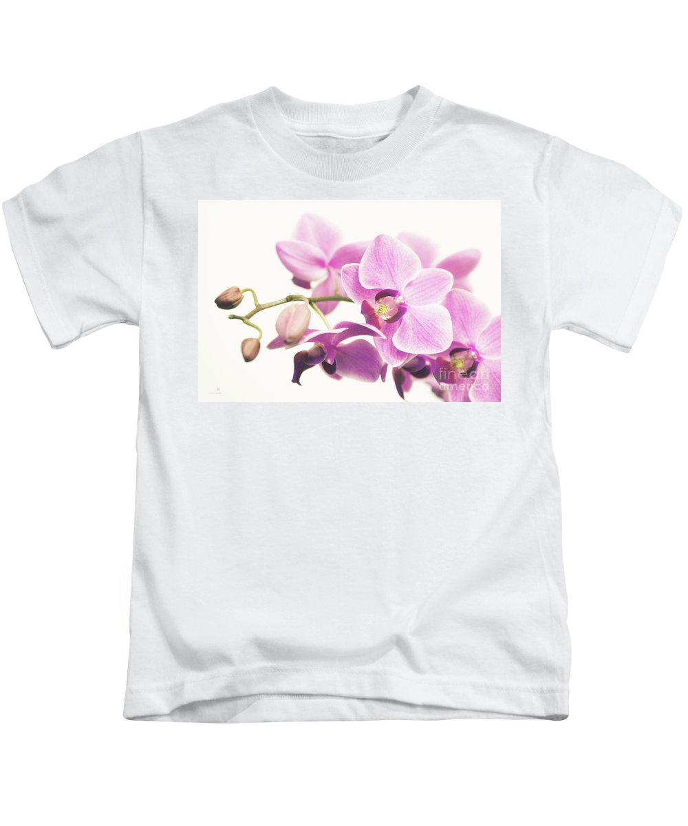 Orchid Kids T-Shirt featuring the photograph orchid II by Hannes Cmarits