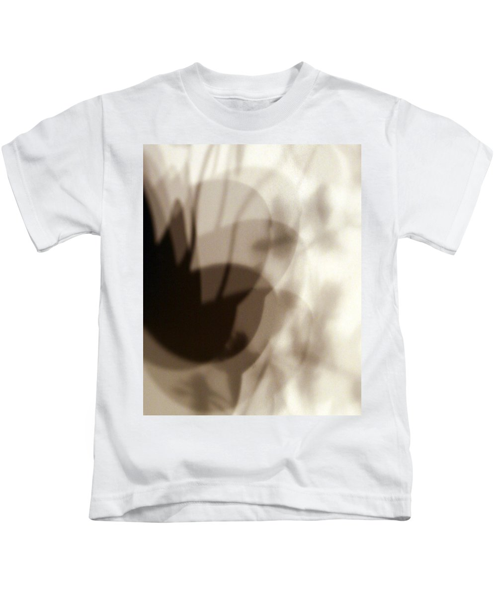 Shadow Kids T-Shirt featuring the photograph Orchid Shadow 1 by Marilyn Hunt