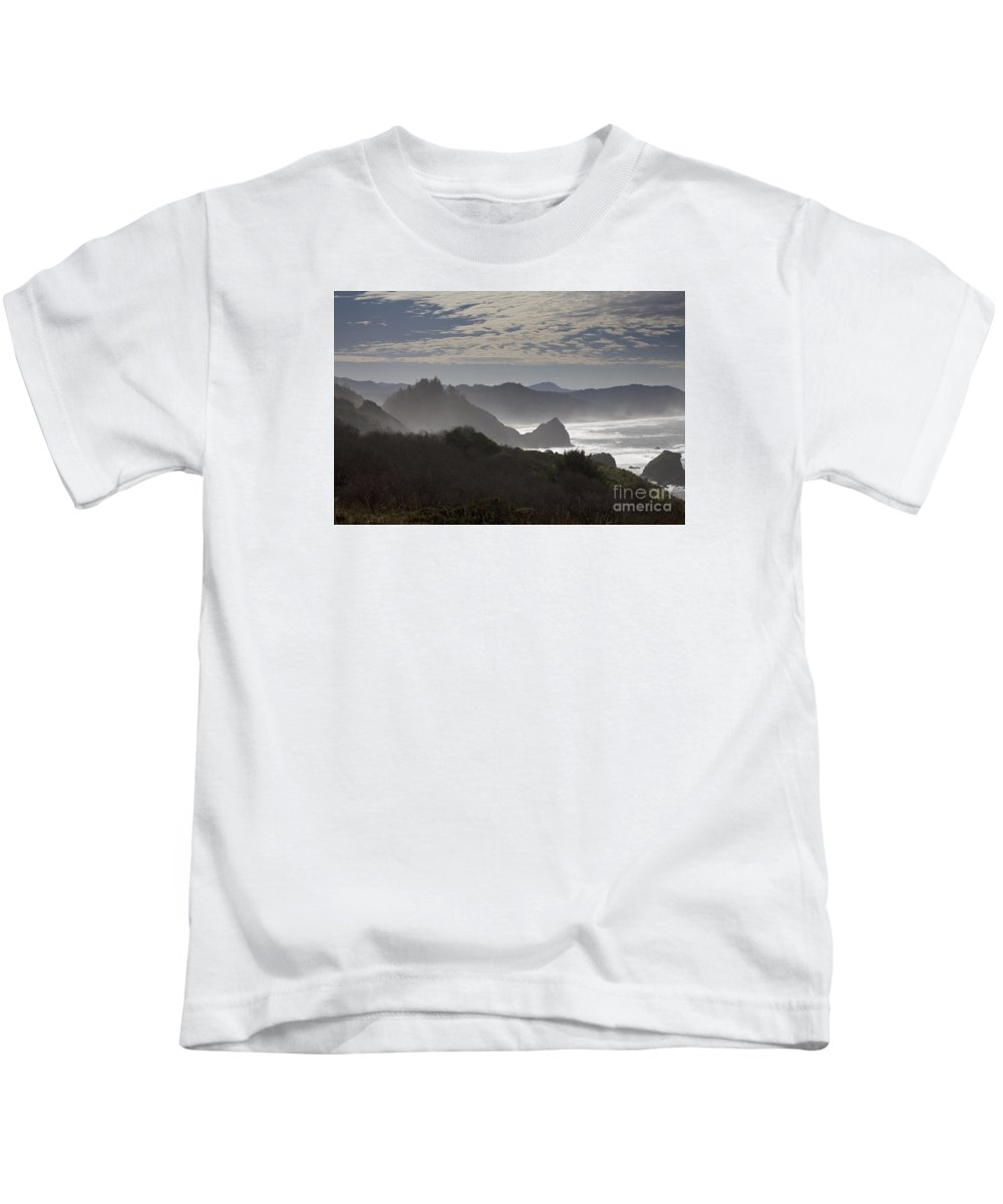 Oregon Kids T-Shirt featuring the photograph Oregon Coast #4 by Timothy Johnson