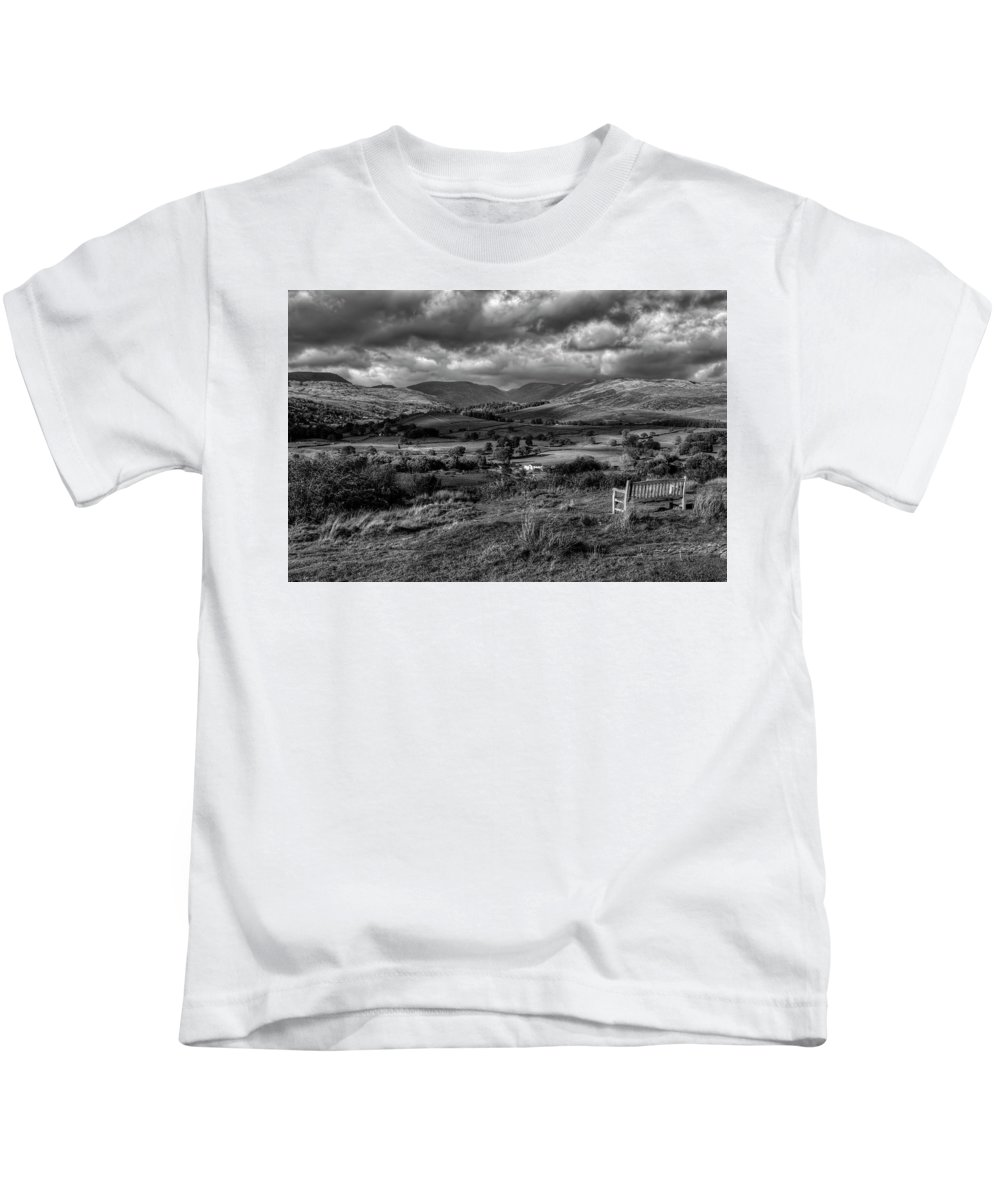 Orrest Head Kids T-Shirt featuring the photograph Orrest Head by Graham Moore