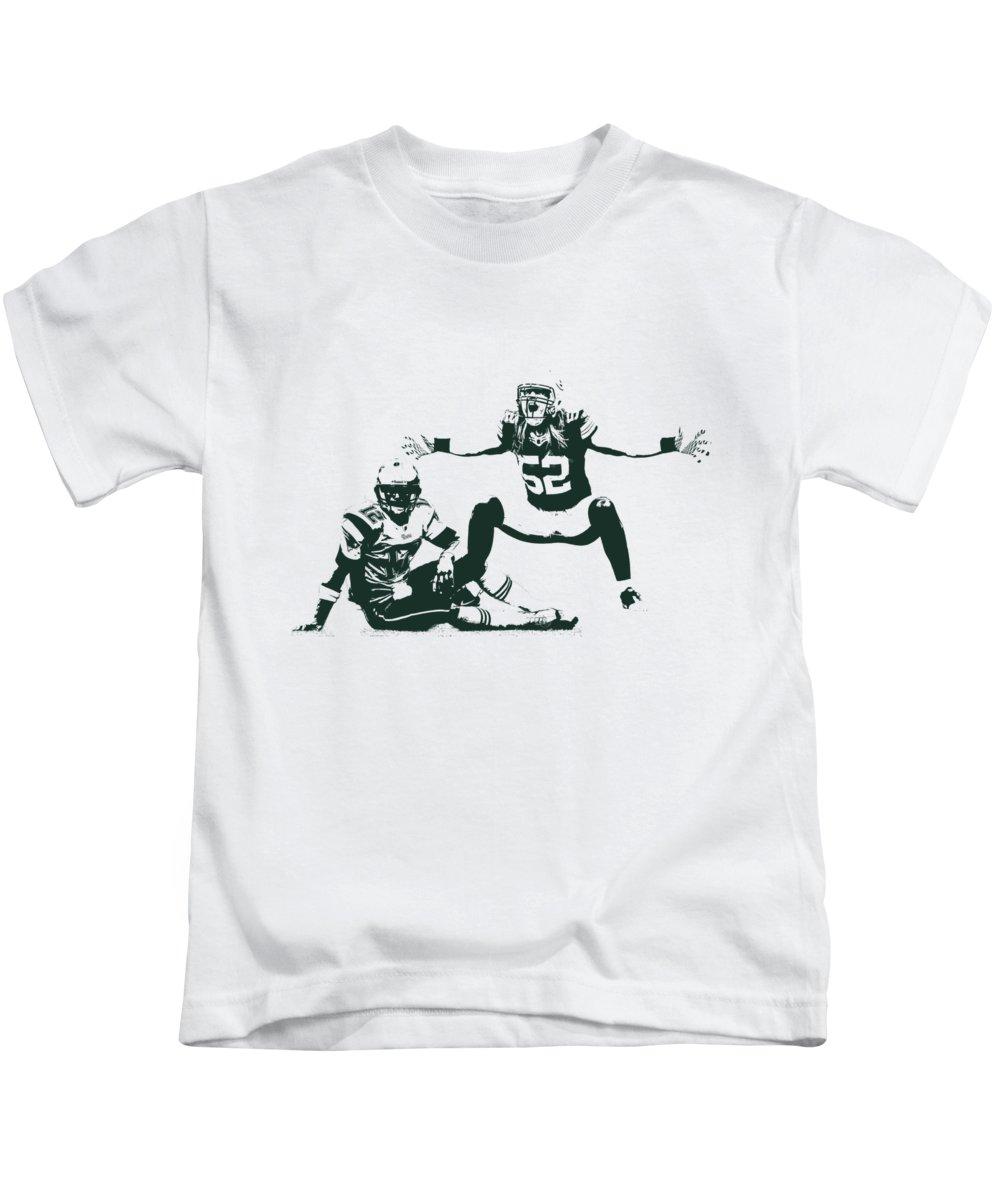best loved 92596 7b36c Packers Clay Matthews Sack Kids T-Shirt