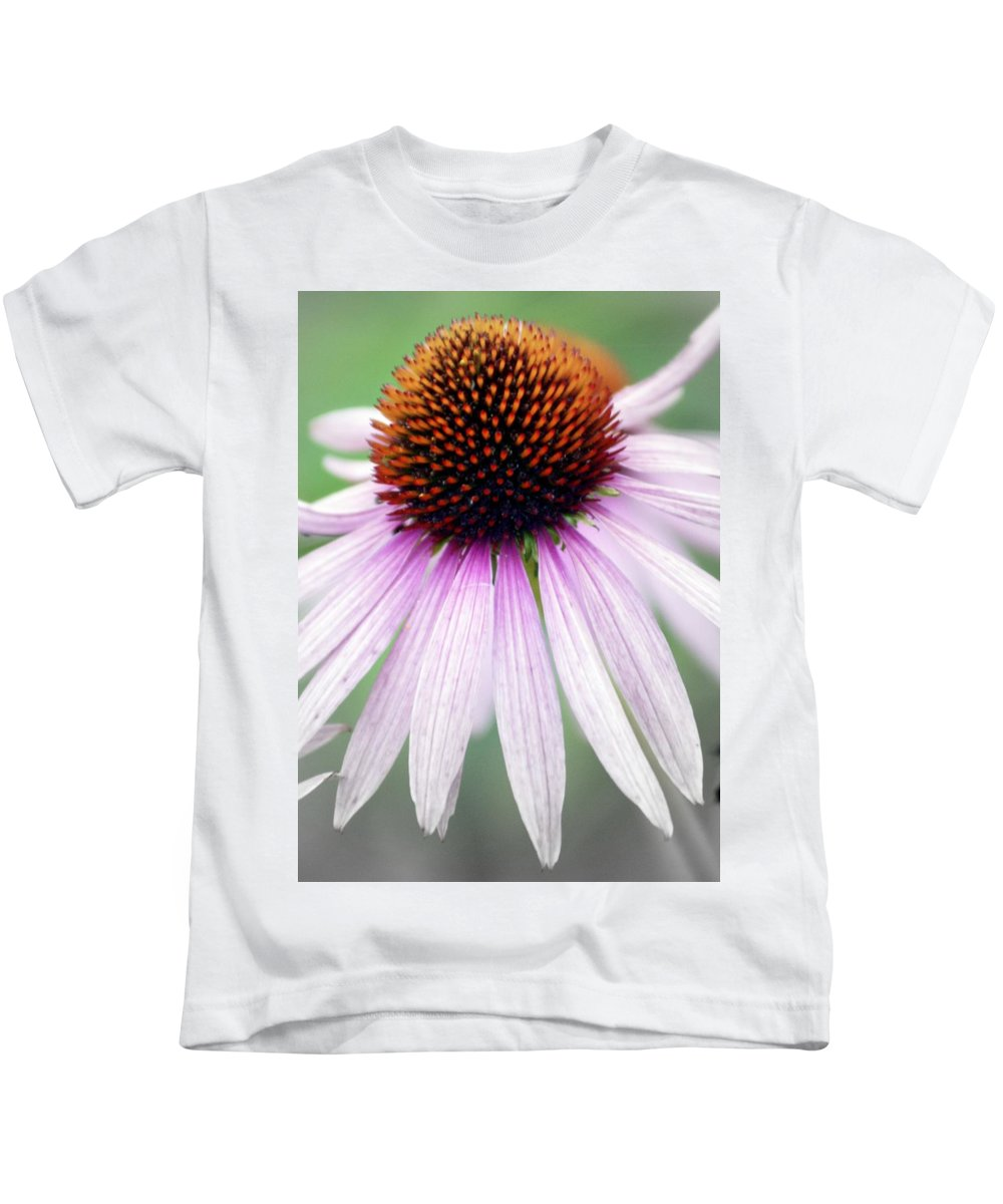 Flowers Kids T-Shirt featuring the photograph Pale Grey by Marty Koch