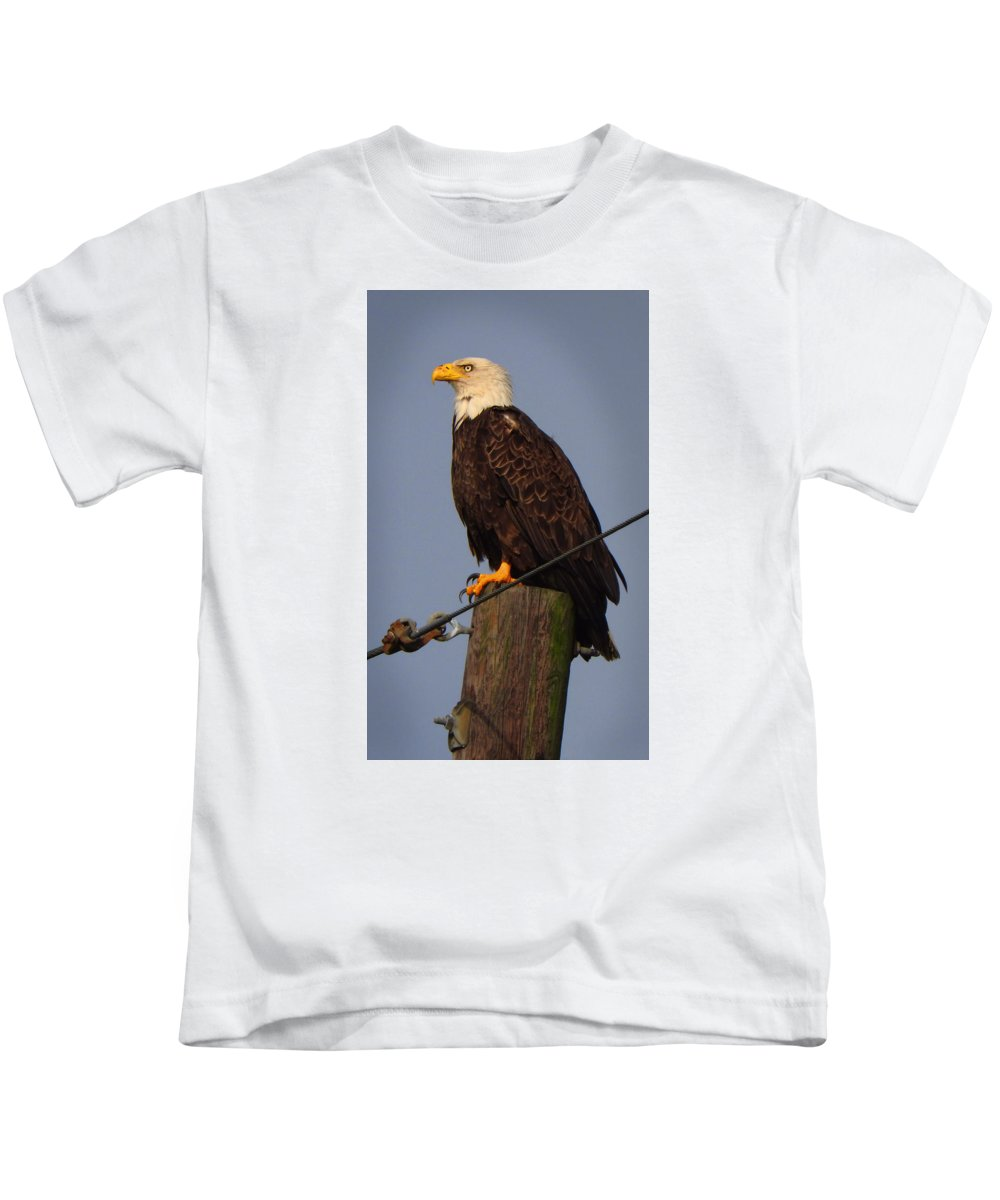 Nature Kids T-Shirt featuring the photograph Passin' Thru by Laura Ragland