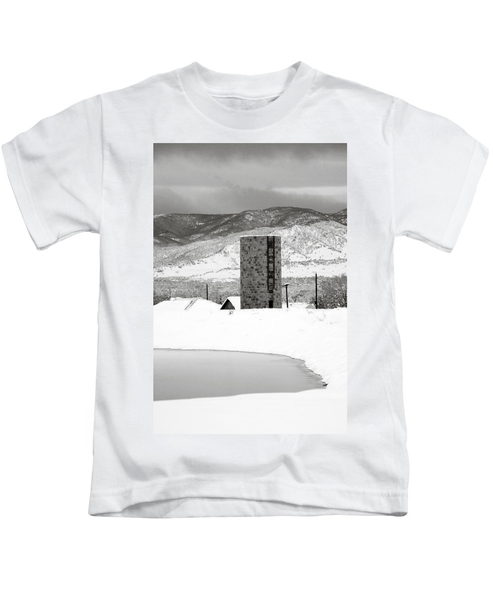 Colorado Kids T-Shirt featuring the photograph Pastoral Winter by Marilyn Hunt