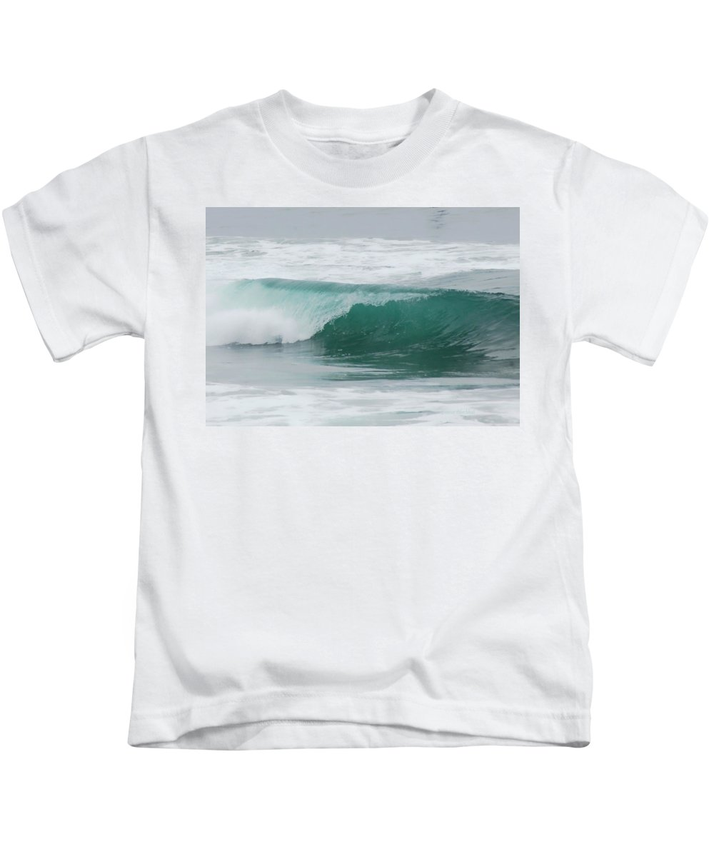Wave Kids T-Shirt featuring the photograph Perfect Wave by Donna Blackhall