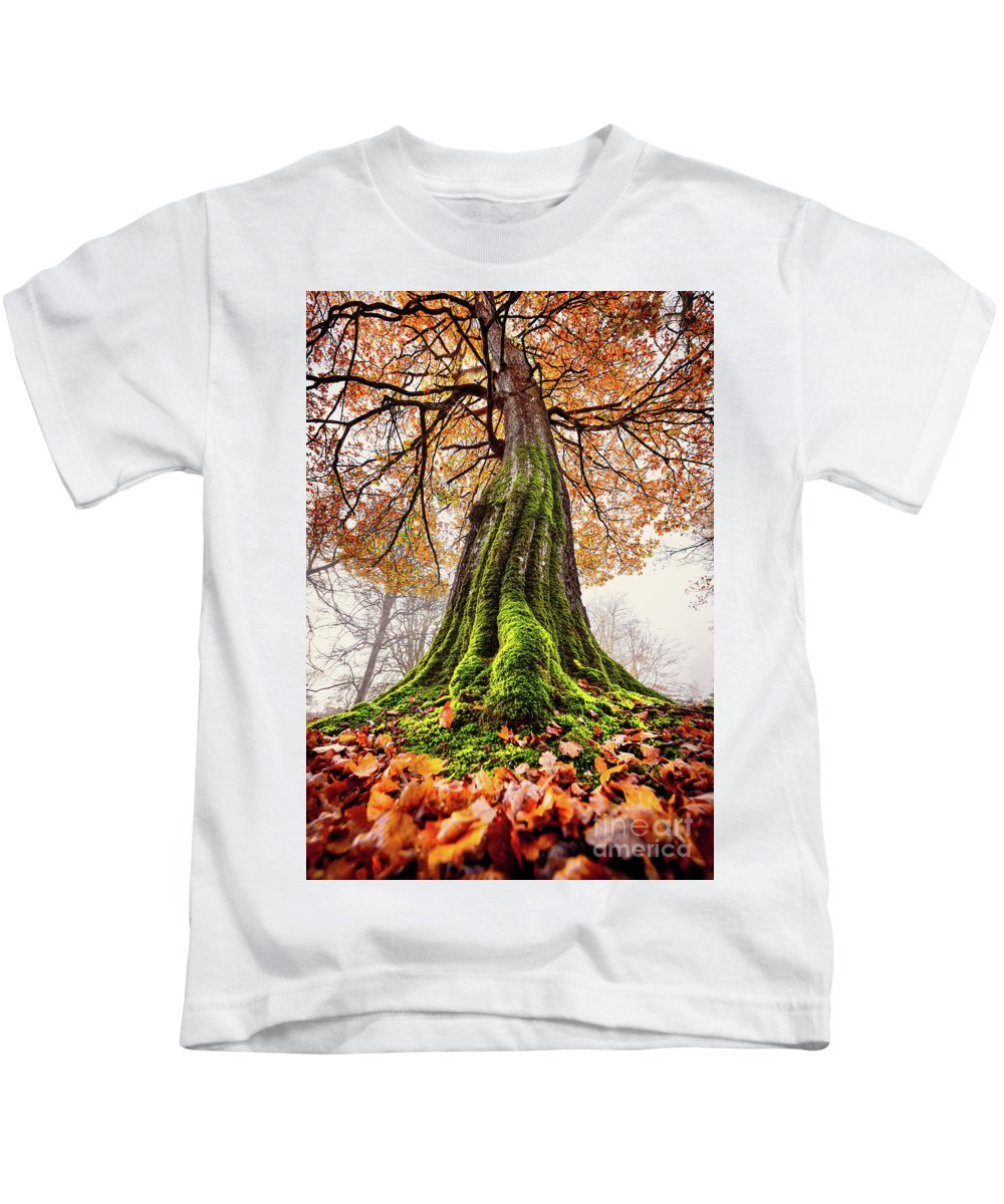Svetlana Sewell Kids T-Shirt featuring the photograph Power Of Roots by Svetlana Sewell