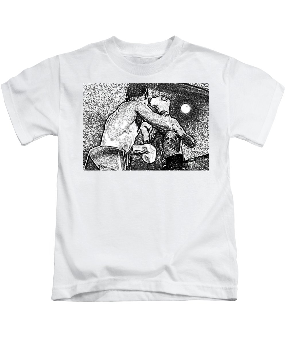 Prize Fighting Kids T-Shirt featuring the photograph Prize Fighters by David Lee Thompson