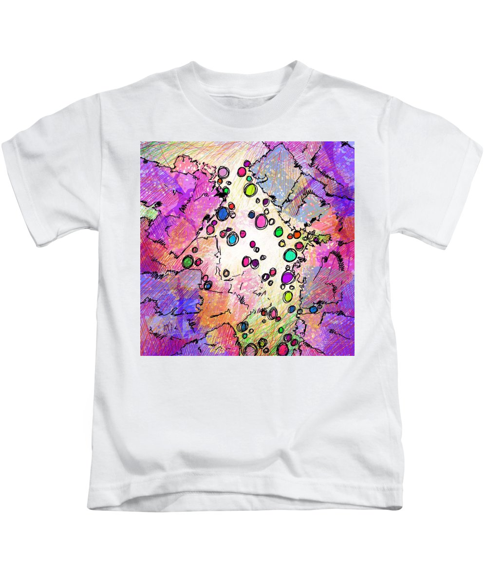 Recess Kids T-Shirt featuring the digital art Recess by Rachel Christine Nowicki