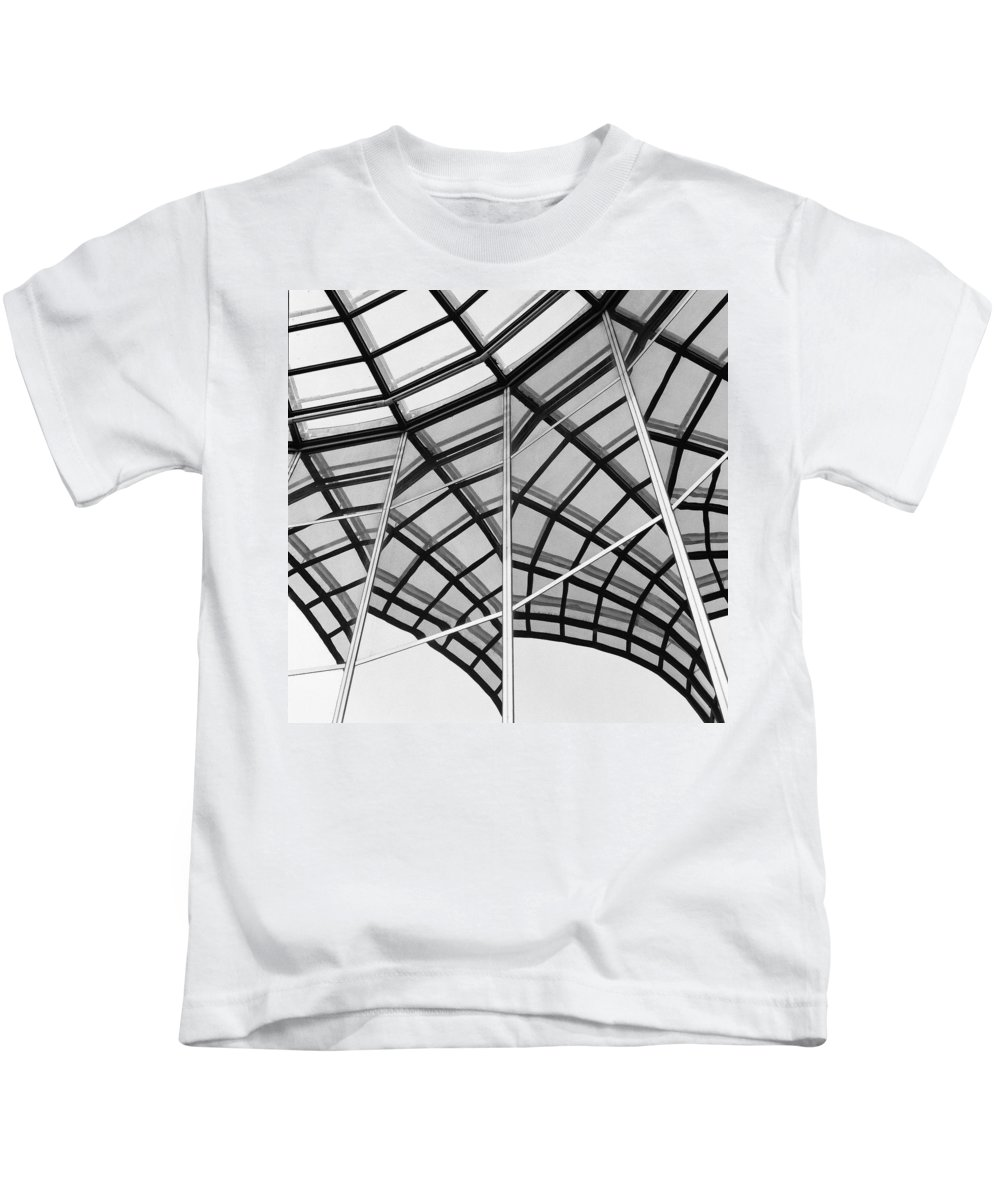Architecture Kids T-Shirt featuring the photograph Reflection II by Olivier De Rycke