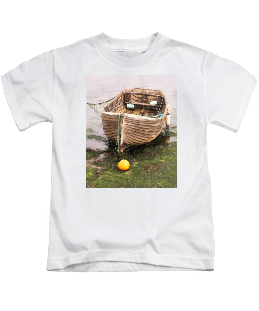 Boat Kids T-Shirt featuring the photograph Resting by Claudia Daniels