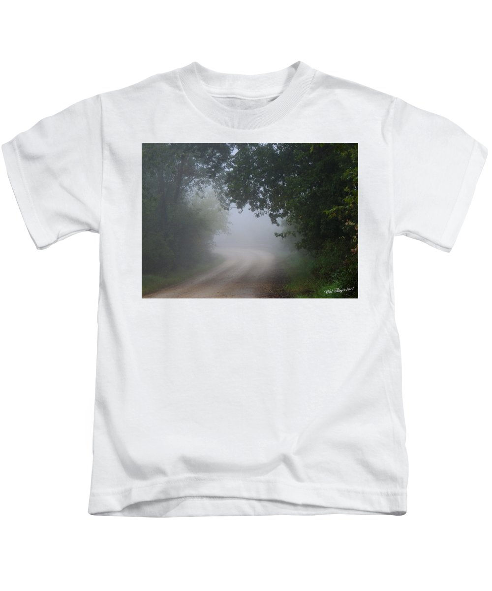 Summer Kids T-Shirt featuring the photograph River Valley Road by Wild Thing